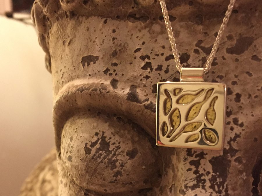 Small Square Garden Necklace