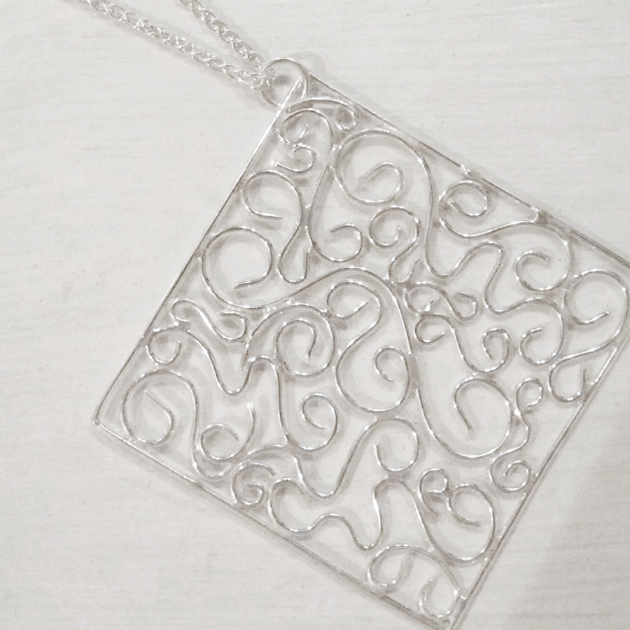 Student Scrollwork Necklace